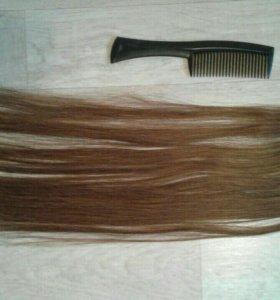 Волосы на заколках (набор)