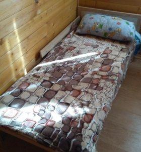 2  подрастковые кровати