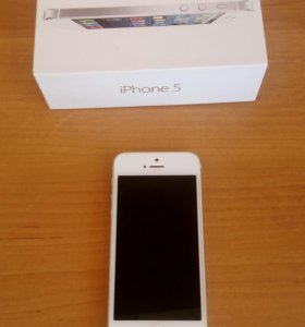 iPhone 5, White, 16GB (A1428)