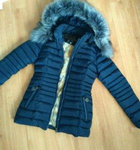 Куртка зимняя пуховик 42