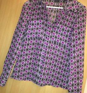 Блузка Zara и Mexx
