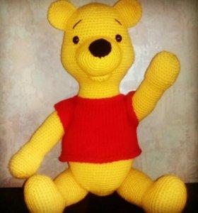 Мягкая игрушка медвежонок ,, Винни пух ''