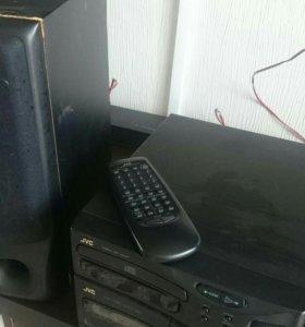 JVC, CD магнитола !