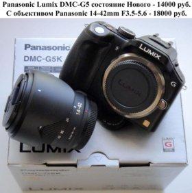 Новый Panasonic Lumix DMC-G5