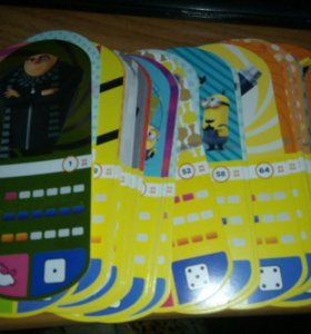 Карточки Гадкий Я-3