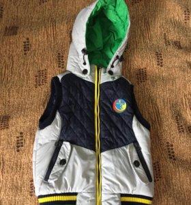 Куртка(жилет)детская