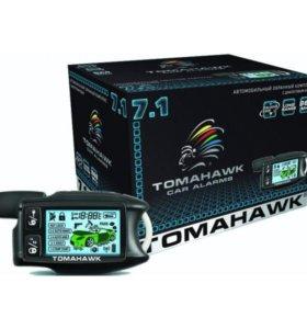 Автосигнализация Tomahawk 7.1 dialog