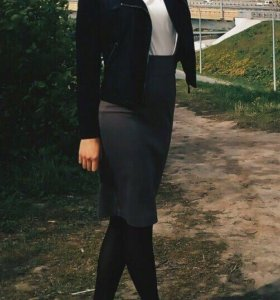 Чёрная куртка - ветровка