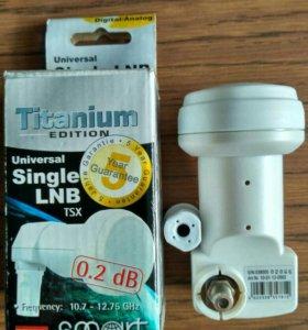 Конвертор Single Titanium TSX
