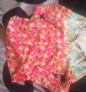 Шелковая рубашка Marc Jacobs