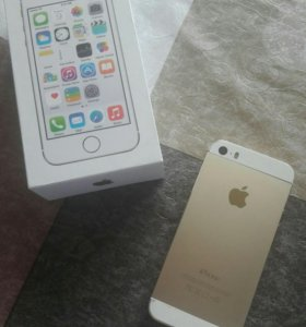 IPHONE 5 s (gold)