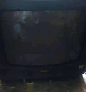 Телевизор на пульте