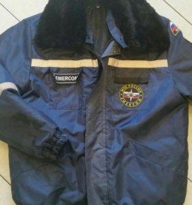 Куртка МЧС зимняя  -46 р