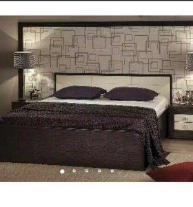 """Кровать двуспальная с подъемным механизмом """"Амели"""""""