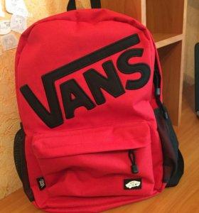 Новый рюкзак Vans