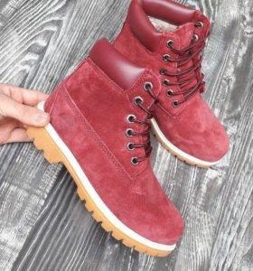 Ботинки зимние темберланд