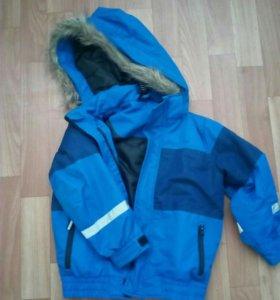 Куртка еврозима с поддевой р.98-104