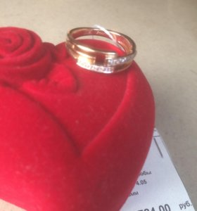 Кольцо золото 585 проба