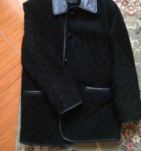 Замшевая куртка 46-48