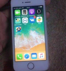 Айфон 5s gold на 32 г оригинал обмен