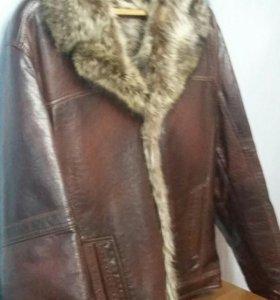 Новая Куртка кожанная