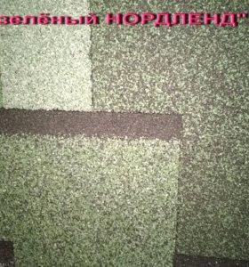 """Кровля TEGOLA """"Альпин зелёный НОРДЛЕНД"""" (3,45м2)"""