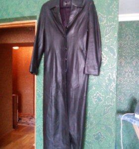 Пальто(кожанное)