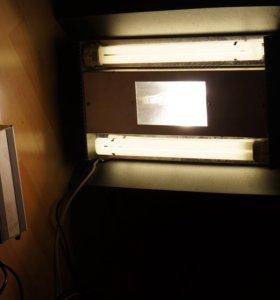 Аквариумный светильник мг 150Вт + 2x36Вт