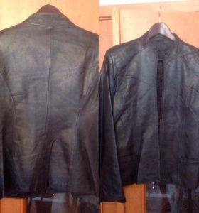 Кожаная куртка р.46-48