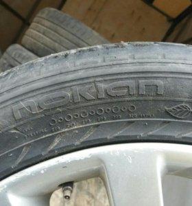 Комплект колес на рендж ровер