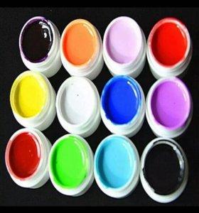 Набор цветных гелей