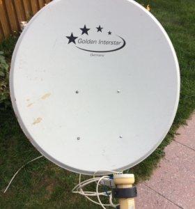 Спутниковая тарелка, антенна