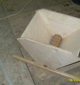 Дробилка с гребнеотделителем