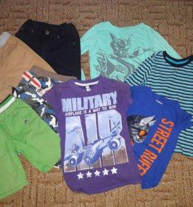 Вещи пакетом мальчику 6-7 лет