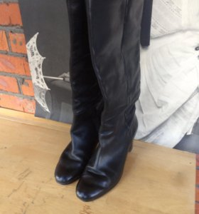 Кожаные сапоги Mascotte, 41 размер