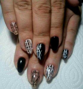 Гель-лак, маникюр,наращивание ногтей!😘