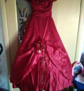 Платье женское (корсет+юбка). Кольца в подарок.