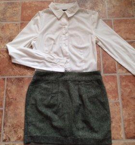 Рубашка-боди Befree и юбка