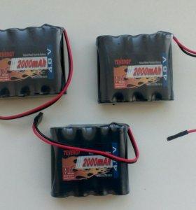Аккумуляторы Tenergy 4.8 V 2000 mAh 4.8v