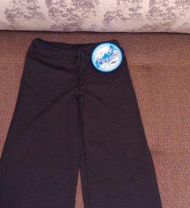 Спортивные брюки для девочки, р.110 (новые)
