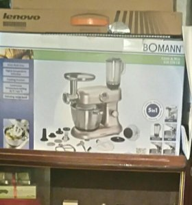 Новый Кухонный комбайн (мясорубка+блендер+чаша)