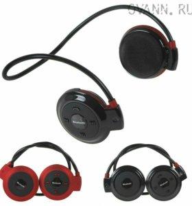 Беспроводные Beats audio блютуз наушники +плеер
