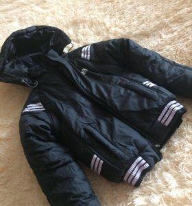 Новая зимняя куртка для мальчика
