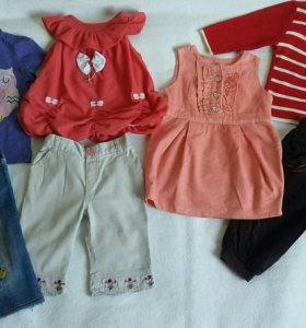 Пакет вещей  на девочку 12-18м