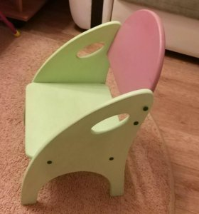 Лошадка качалка и стул