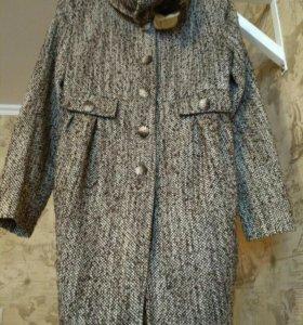 Пальто на девочку 152 рост