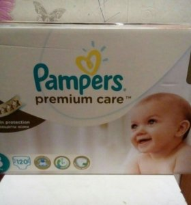 Pampers Premium Care 3 (120шт)