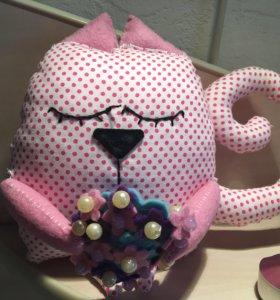 Котики-сони ручной работы
