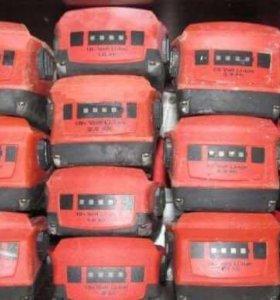 Аккумуляторы Hilti 22A новые и б/у