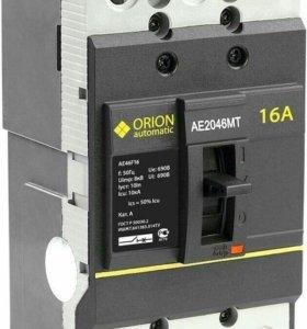 Автоматический выключатель АЕ 2046МТ 16А